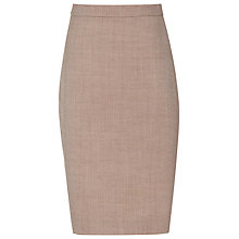 Buy Reiss Turner Tailored Skirt, Burnt Rose Online at johnlewis.com