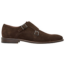 Buy Dune Parsons Suede Monk Shoes Online at johnlewis.com