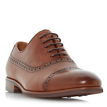 Buy Dune Promise Leather Oxford Shoes, Tan Online at johnlewis.com
