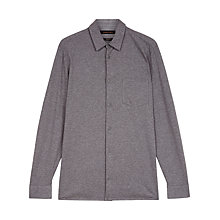 Buy Jaeger Jersey Cotton Regular Fit Shirt Online at johnlewis.com
