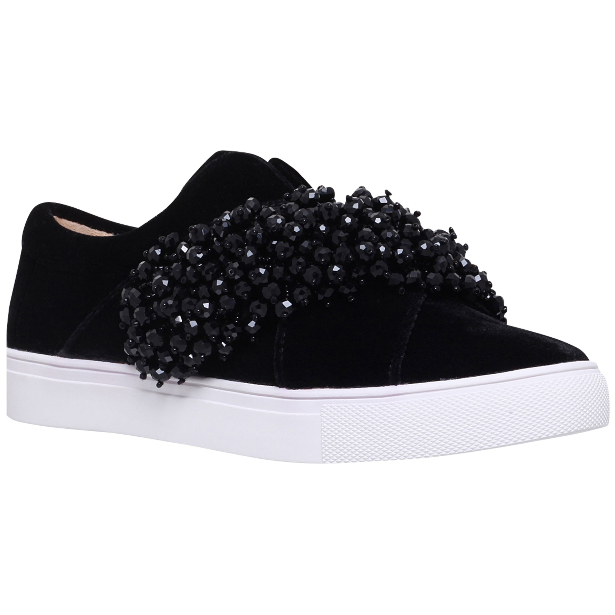 KG by Kurt Geiger KG by Kurt Geiger Ocean Embellished Trainers, Black