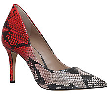 Buy KG by Kurt Geiger Bella Pointed Toe Stiletto Court Shoes, Beige Comb Online at johnlewis.com