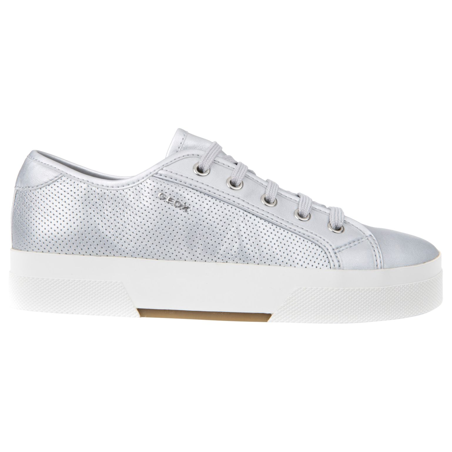 Geox Geox Hidence Lace Up Flatform Trainers