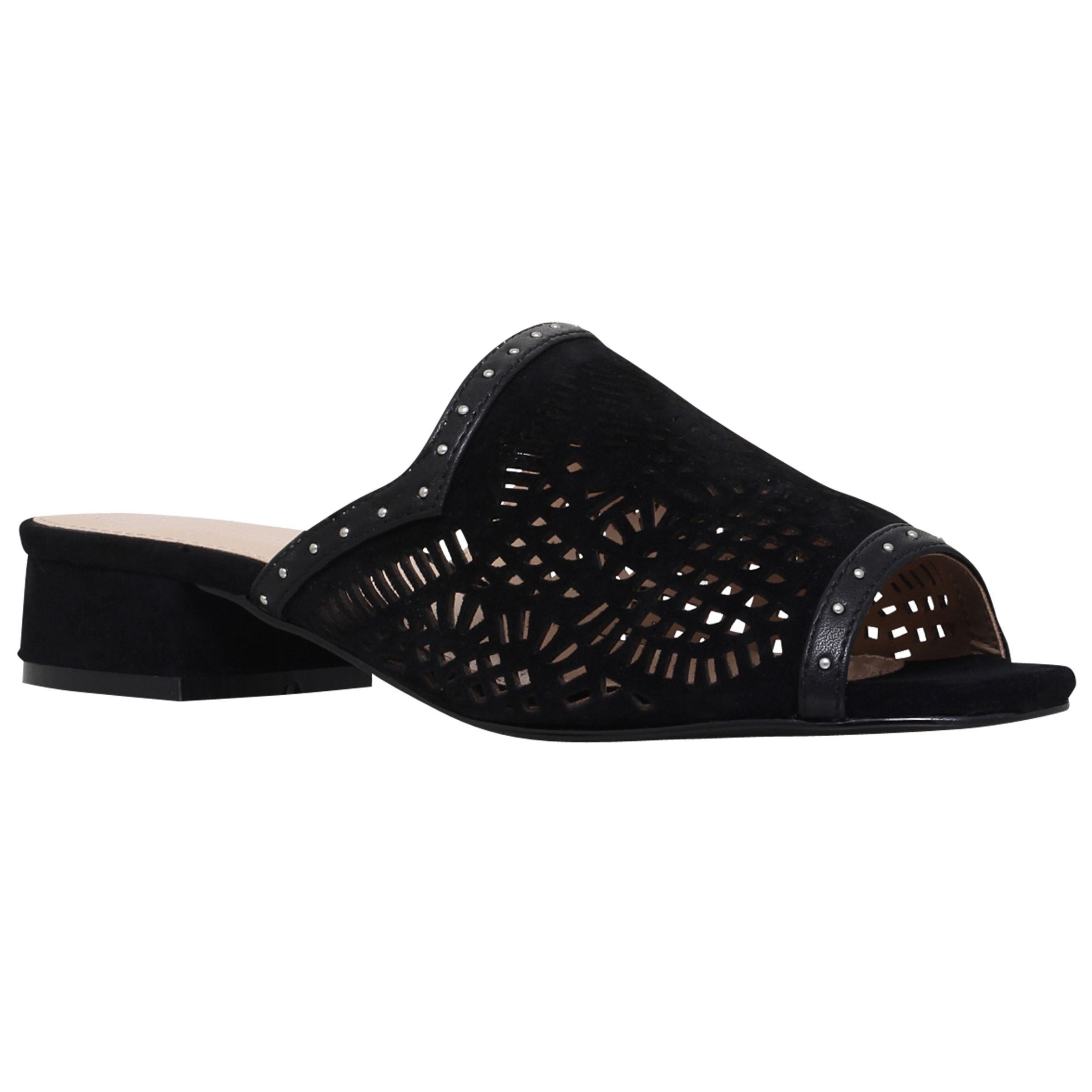 KG by Kurt Geiger KG by Kurt Geiger Mojave Cut Out Sandals, Black