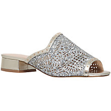 Buy KG by Kurt Geiger Mojave Cut Out Sandals, Gold Online at johnlewis.com