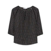 Buy Gerard Darel Chaya Blouse, Black Online at johnlewis.com