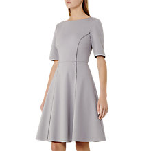 Buy Reiss Tianna A-Line Dress With Trim Detail Online at johnlewis.com
