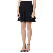 Buy Reiss Rufen Tiered Skirt, Night Navy Online at johnlewis.com