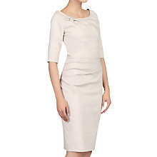 Buy Jolie Moi Half Sleeve Ruched Wiggle Dress Online at johnlewis.com