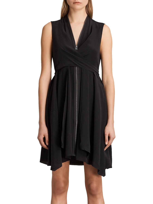 AllSaints AllSaints Jayda Dress, Black