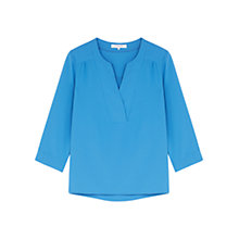 Buy Gerard Darel Capri Blouse, Blue Online at johnlewis.com