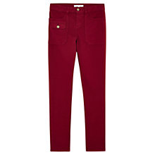 Buy Gerard Darel Paz Jeans, Dark Red Online at johnlewis.com