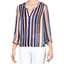 Buy Jolie Moi Stripe Pleat Detail Blouse Online at johnlewis.com