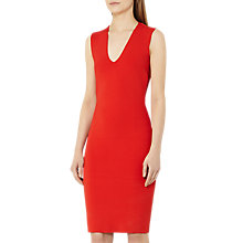 Buy Reiss Elspeth Open Back Dress, Ruby Online at johnlewis.com