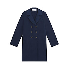 Buy Gerard Darel Melville Trench Coat, Navy Blue Online at johnlewis.com