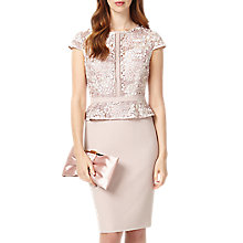 Buy Phase Eight Mia Lace Dress, Petal Online at johnlewis.com