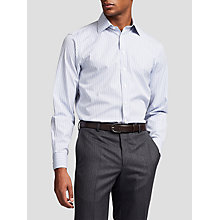 Buy Thomas Pink Lipson Check Slim Fit XL Sleeve Shirt, Blue/White Online at johnlewis.com