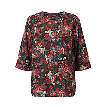 Buy Maison Scotch Ladded Insert Printed Top, Multi Online at johnlewis.com