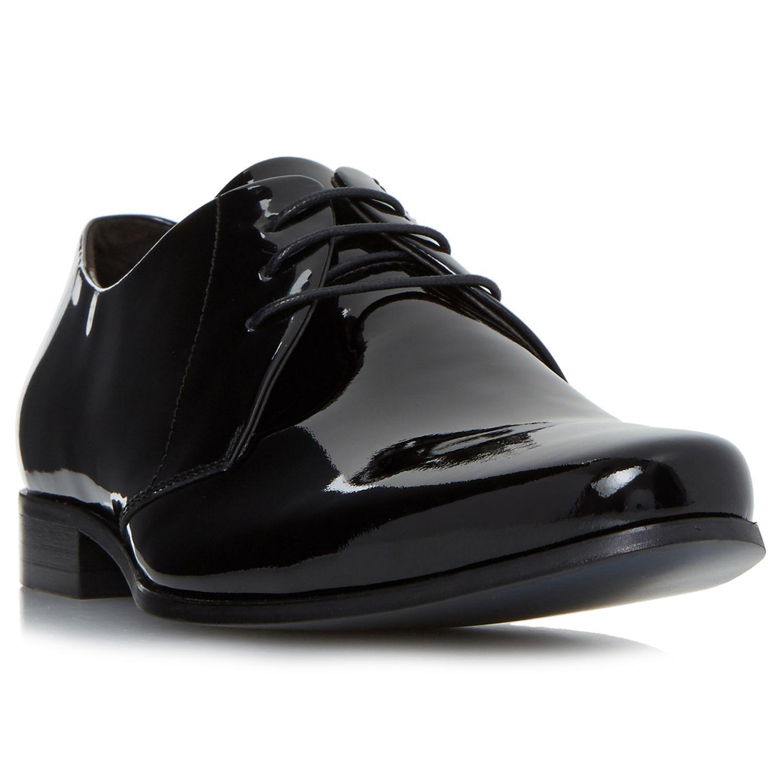 Bertie Bertie Police Patent Derby Shoes, Black