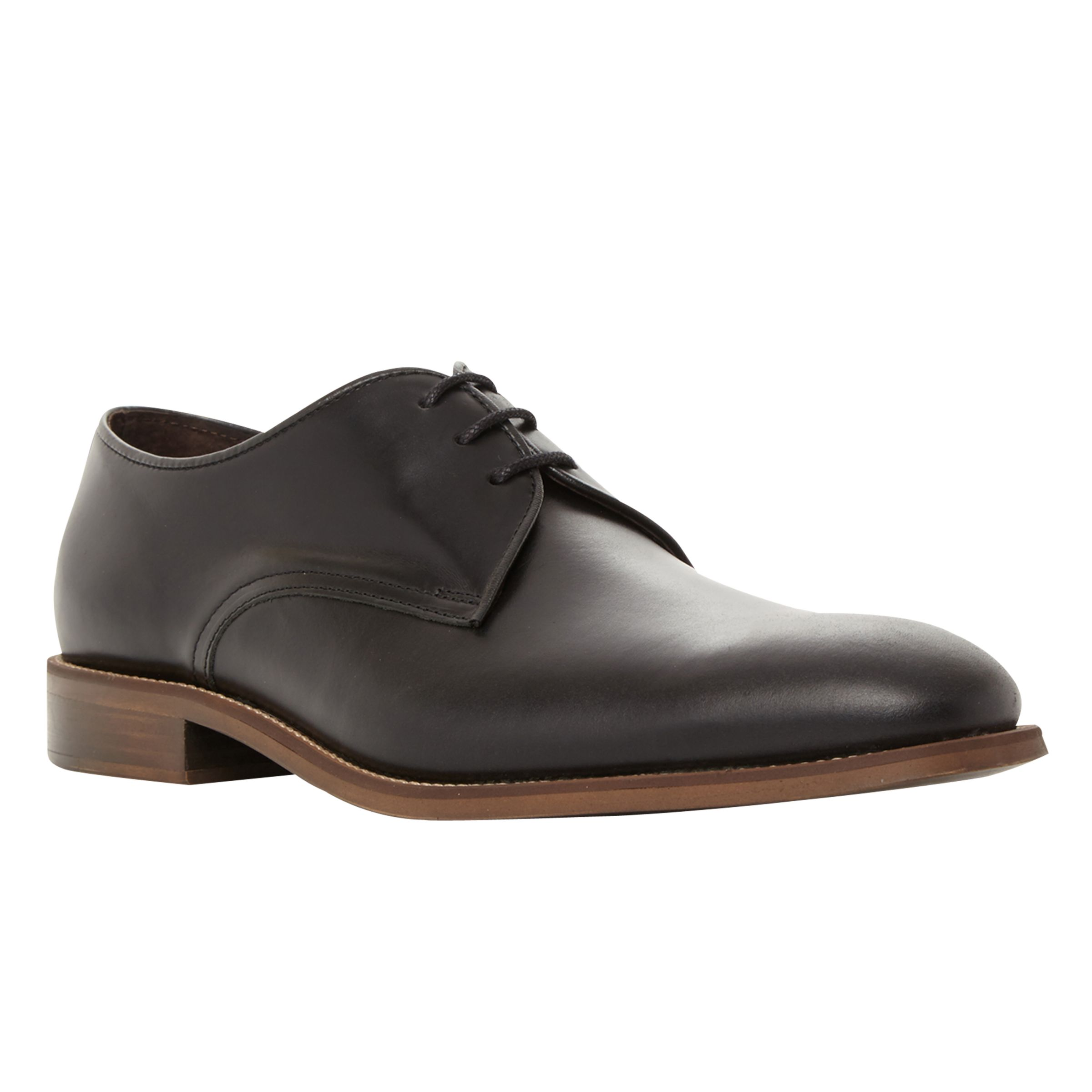 Bertie Bertie Ricon Derby Shoes, Black