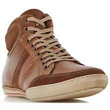 Buy Dune Shandy High Top Trainers Online at johnlewis.com