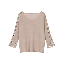 Buy Gerard Darel Tess Jumper, Beige Online at johnlewis.com