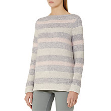 Buy Reiss Tamsin Striped Jumper, Multi Online at johnlewis.com
