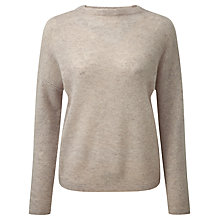 Buy Pure Collection Gassato Cashmere Relaxed Jumper, Marble Online at johnlewis.com