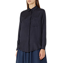 Buy Reiss Meera Silk Pocket Shirt Online at johnlewis.com