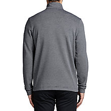 Buy BOSS Green C-Piceno Half-Zip Sweatshirt, Navy Online at johnlewis.com