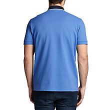 Buy BOSS Green C-Varenna Polo Shirt, Medium Blue Online at johnlewis.com