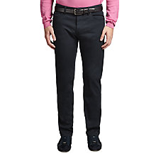 Buy BOSS Green C-Maine1 Trousers, Blue Online at johnlewis.com