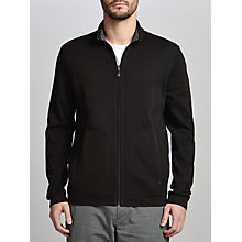 Buy BOSS Green C-Fossa Reversible Jersey Jacket, Black Online at johnlewis.com
