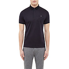Buy Ted Baker Charmen Flat Knit Collar Cotton Polo Shirt Online at johnlewis.com