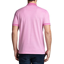 Buy BOSS Green C-Genova Cotton Pique Polo Shirt, Open Purple Online at johnlewis.com