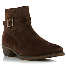 Buy Bertie Cubaa Suede Boots, Brown Online at johnlewis.com