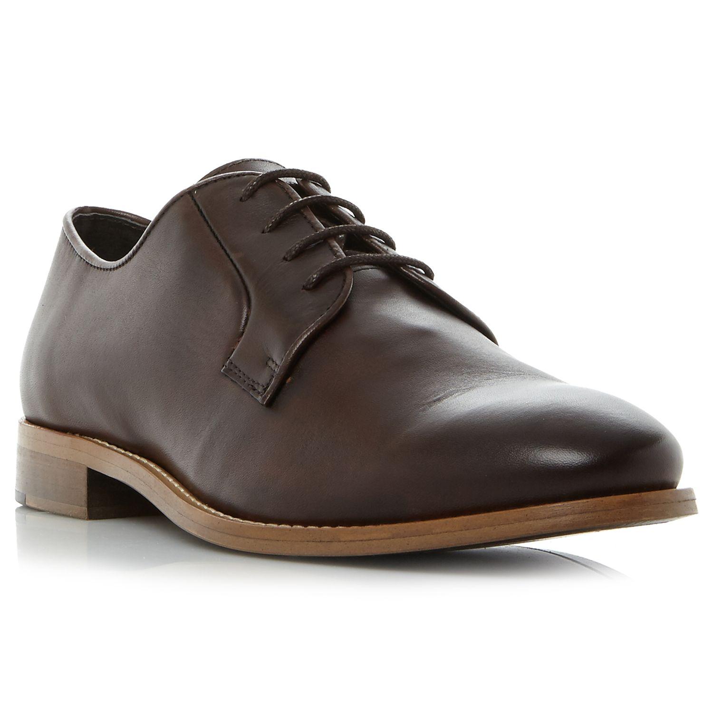 Bertie Bertie Porto Derby Shoes, Dark Brown