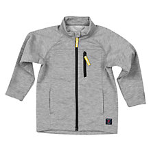 Buy Polarn O. Pyret Children's Fleece Full-Zip Jacket, Grey Online at johnlewis.com