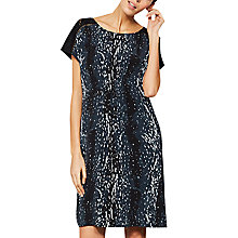 Buy Mint Velvet Scarlett Print Contrast Dress, Multi Online at johnlewis.com