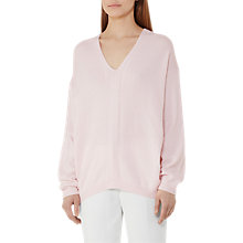 Buy Reiss Rae V-Neck Jumper Online at johnlewis.com