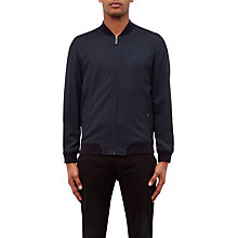 Buy Ted Baker Cabbo Bomber Jacket, Navy Online at johnlewis.com