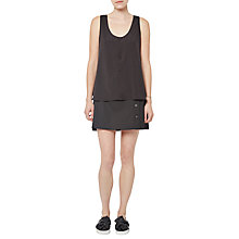 Buy French Connection Clee Plains Crepe Vest Online at johnlewis.com