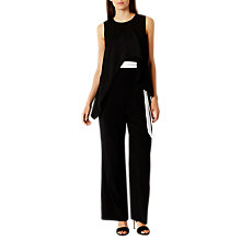 Buy Coast Una Jumpsuit, Black Online at johnlewis.com