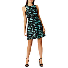 Buy Coast Lisa Floral Stripe Dress, Multi Online at johnlewis.com