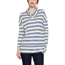 Buy East Slouchy Cowl Neck Jersey Top, Multi Online at johnlewis.com
