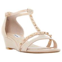 Buy Dune Khala Studded Wedge Heeled Sandals Online at johnlewis.com