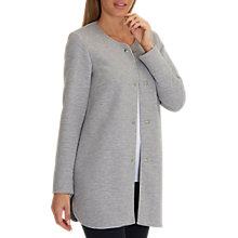 Buy Betty Barclay Unlined Long Jacket, Light Silver Melange Online at johnlewis.com