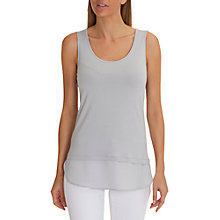 Buy Betty Barclay Layered Vest Top, Shiny Silver Online at johnlewis.com