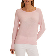 Buy Betty Barclay Fine Knit Embellished Jumper, Wild Rose Online at johnlewis.com