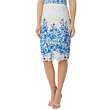 Buy Damsel in a dress Amily Skirt, White/Blue Online at johnlewis.com